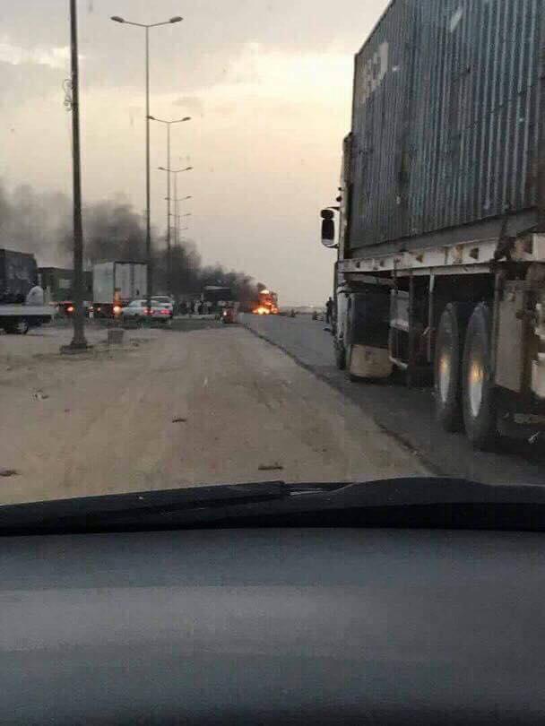 داعش تعترف : انغماسي فجر حزامه الناسف على شرطة ابي دشير ببغداد مساء الجمعة