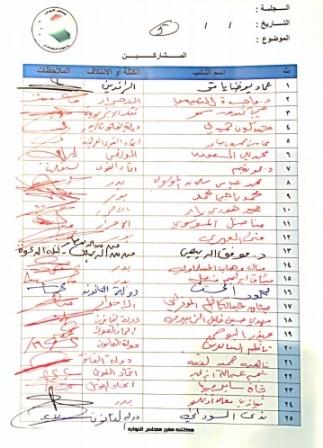 صحيفة العراق تنشر اسماء البرلمانيين الذين صوتوا لتمديد مفوضية الانتخابات