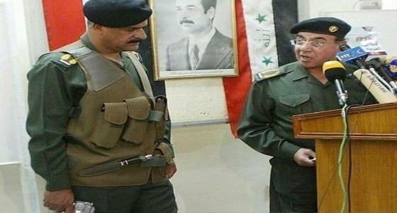 بالصورة.. شاهد ماذا وقع لوزير الداخلية العراقي في عهد صدام حسين