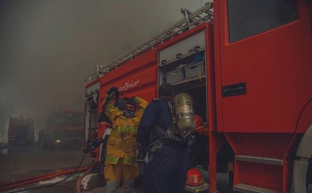 بغداد تحترق الان وقبل صلاة الجمعة