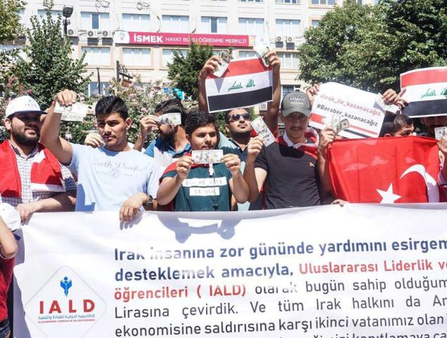 Iraqis support the Turkish lira 636699117092934149-39144101_1210892279059712_7895003635057164288_n