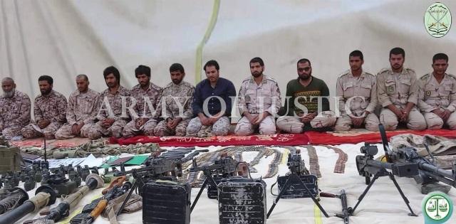 بعد تهديد قائد الحرس الايراني..جيش العدل بهدد باعدام 14 عسكرياً
