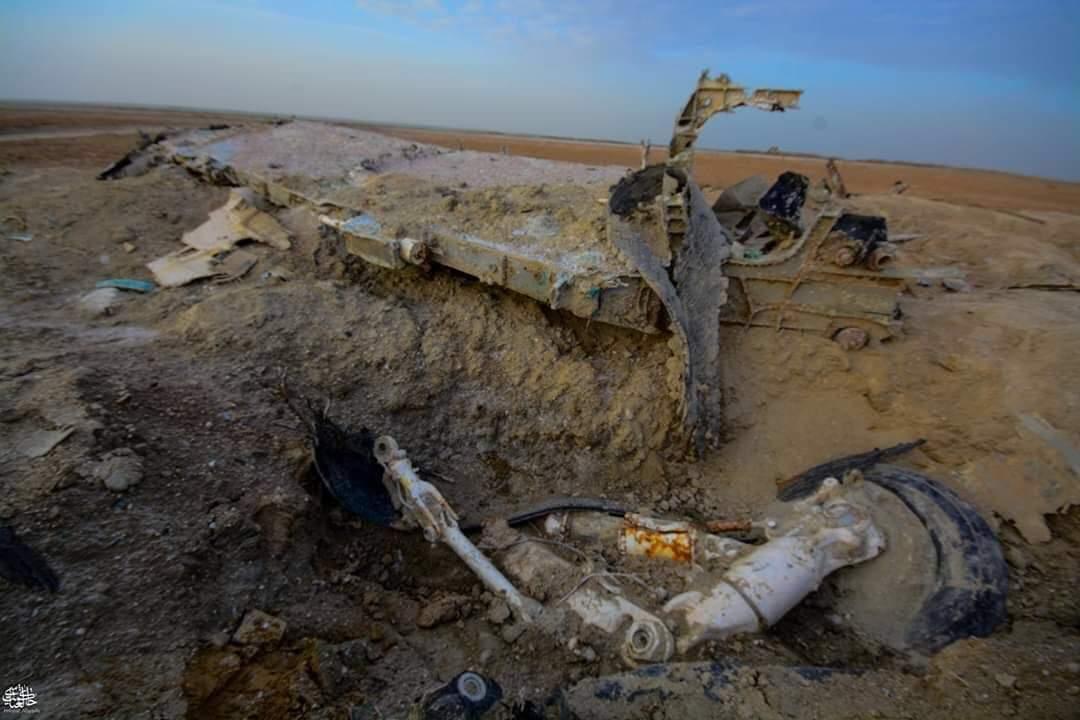 العثور على مقاتلة امريكية اسقطها العراقيون عام 1991