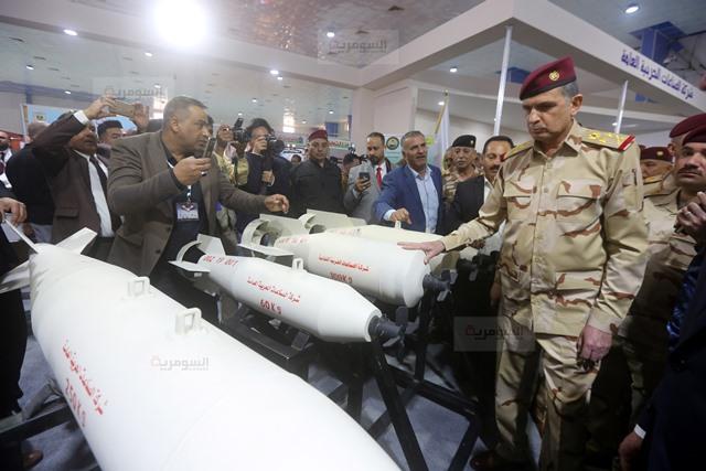 رئيس اركان الجيش العراقي يفتتح معرض الامن والدفاع ويؤكد أن شركة الصناعات الحربية العراقية بدأت بالتنفس 636877284668544232-BS2A4341%D9%86%D8%B3%D8%AE