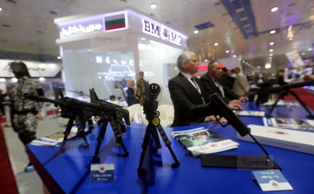 رئيس اركان الجيش العراقي يفتتح معرض الامن والدفاع ويؤكد أن شركة الصناعات الحربية العراقية بدأت بالتنفس 636877285234679119-BS2A4371%D9%86%D8%B3%D8%AE