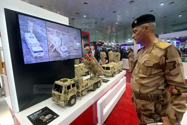 رئيس اركان الجيش العراقي يفتتح معرض الامن والدفاع ويؤكد أن شركة الصناعات الحربية العراقية بدأت بالتنفس 636877285484907931-BS2A4387%D9%86%D8%B3%D8%AE