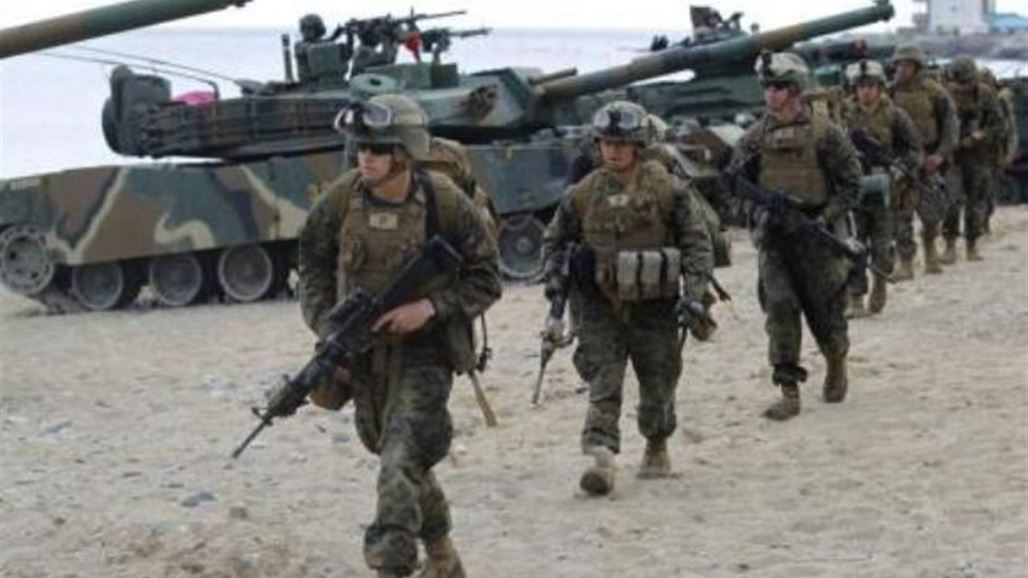 US Army - A group of Marines will reinforce the existing troops in Iraq