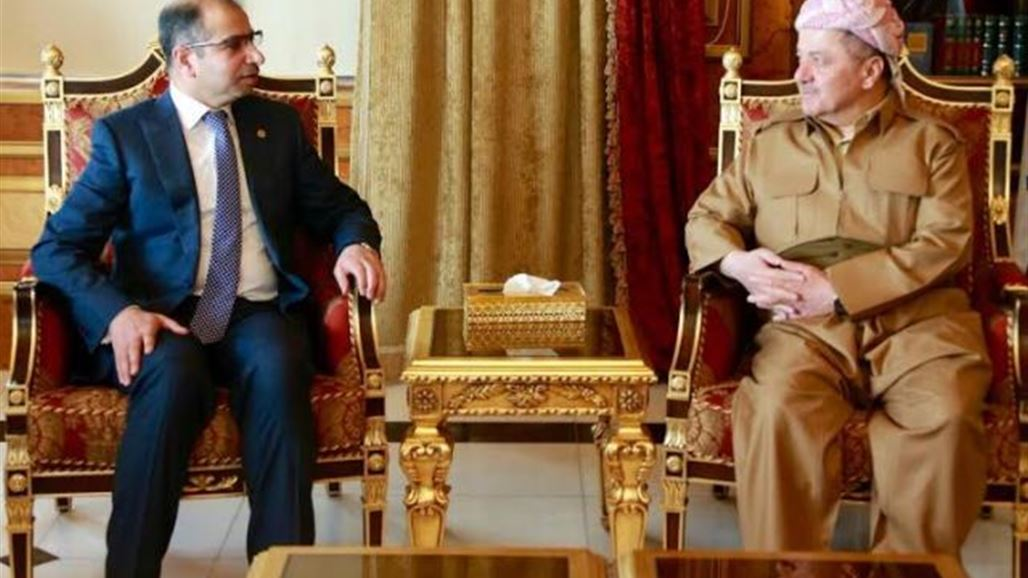 اجتماع بين الجبوري والبارزاني لبحث آخر التطورات السياسية والأمنية
