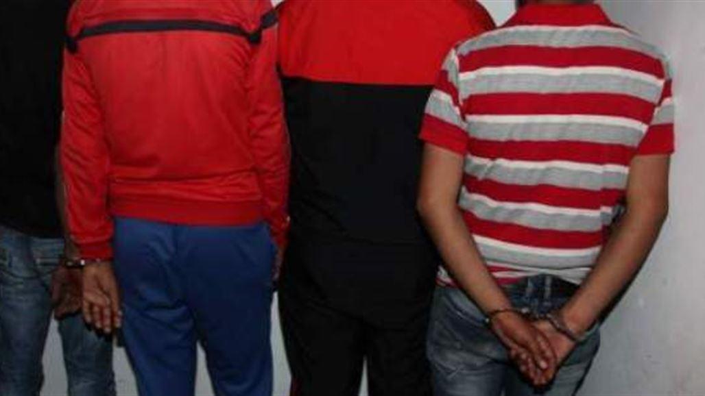 مكافحة الجريمة المنظمة تعتقل عصابة