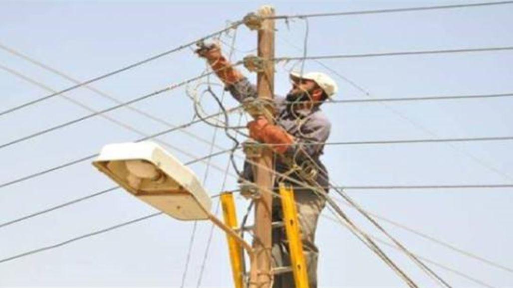 إعادة الكهرباء لأكثر نسمة شمال