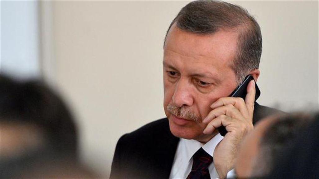 2950ac655 اردوغان يهاتف جنوده في بعشيقة: تواجهون الظلم بشموخ وشجاعة