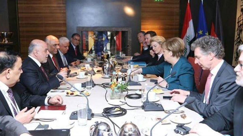 ميركل تبلغ العبادي بإرسال مبعوث خاص إلى العراق لدعم  الإصلاح الاقتصادي    سياسة
