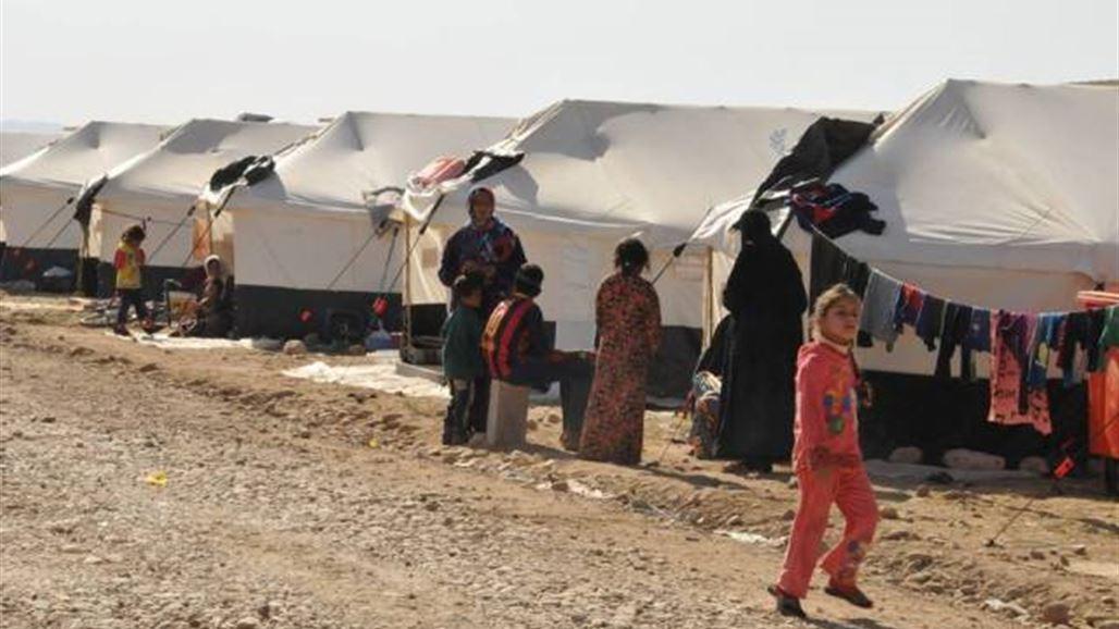 الهجرة: استقبال أكثر من 12 ألف نازح من أيمن الموصل