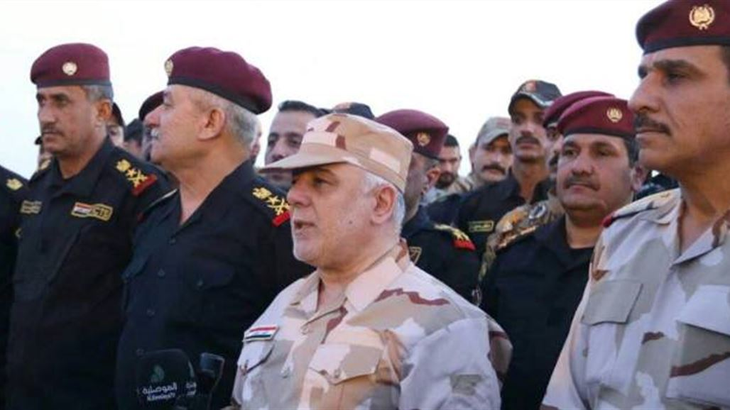 Abadi - a matter of a few days and announce the full liberation of Mosul