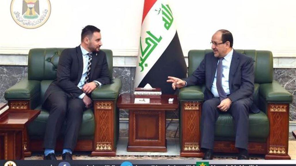 المالكي: العراق نجح بتجاوز التحديات والمخططات الرامية لزعزعة أمنه واستقراره   سياسة