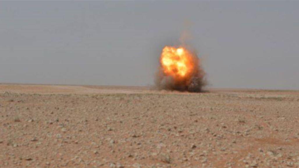 عمليات الأنبار تعلن تدمير شاحنتين محملتين بقناني غاز معدة للتهريب بصحراء المحافظة   أمن