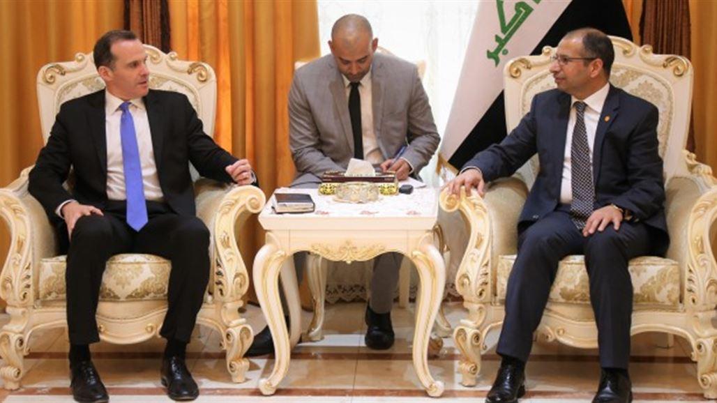 احدث اخبار العراق 2017_الجبوري ومبعوث