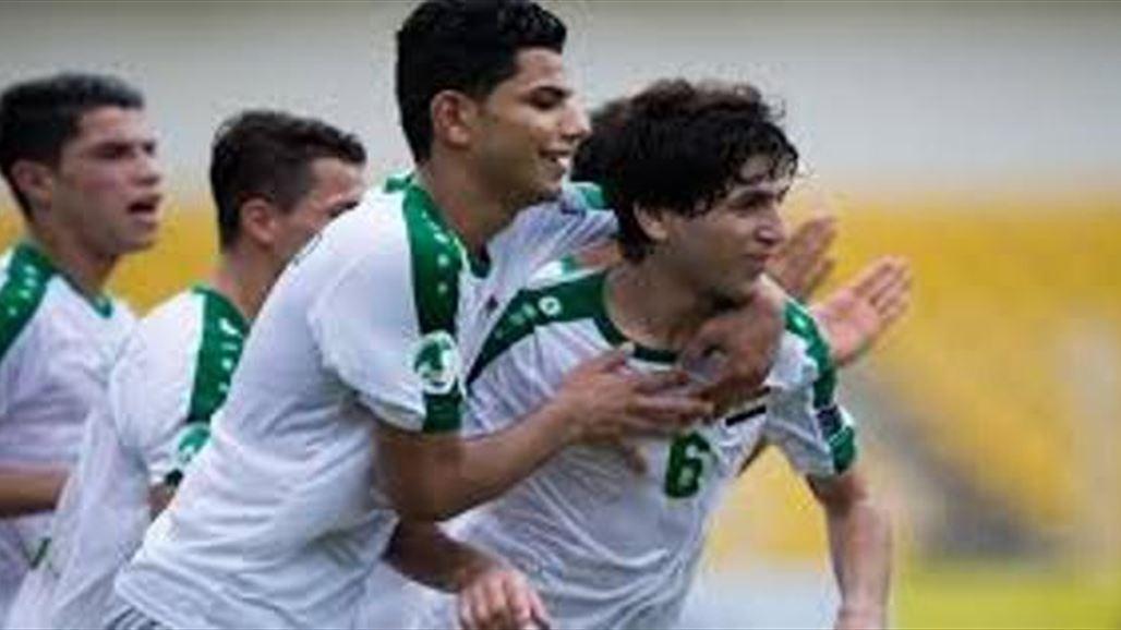 فاز المنتخب العراقي على نظيره التشيلي بثلاثة اهداف مقابل لا شيء