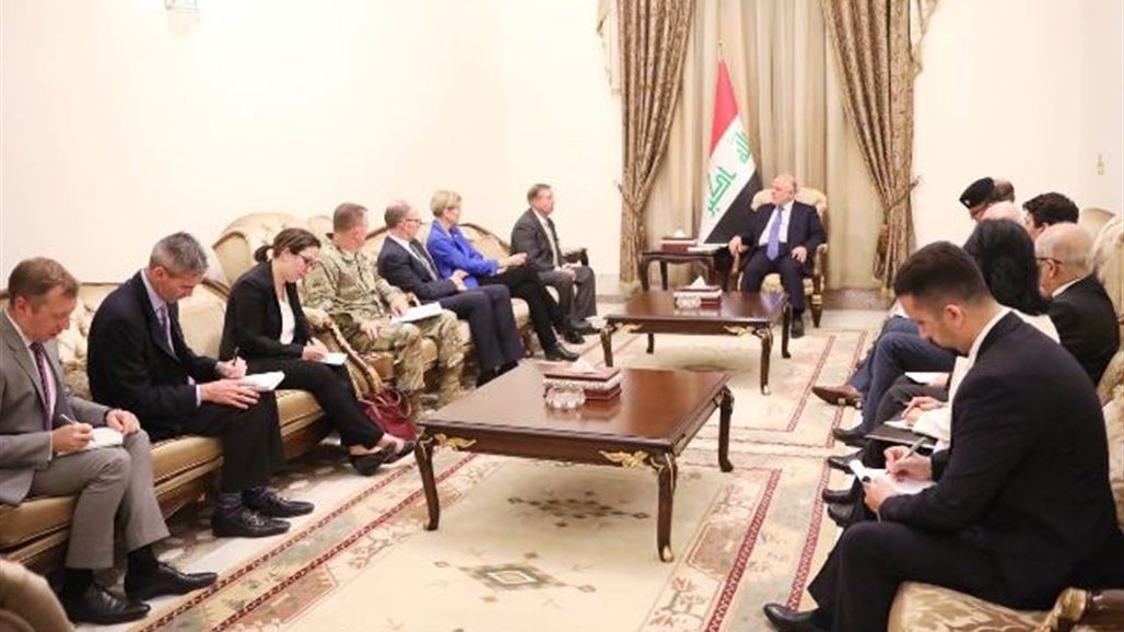Abadi discusses with a delegation of the Senate to reduce the number of US advisers in Iraq NB-240943-636662495919296003