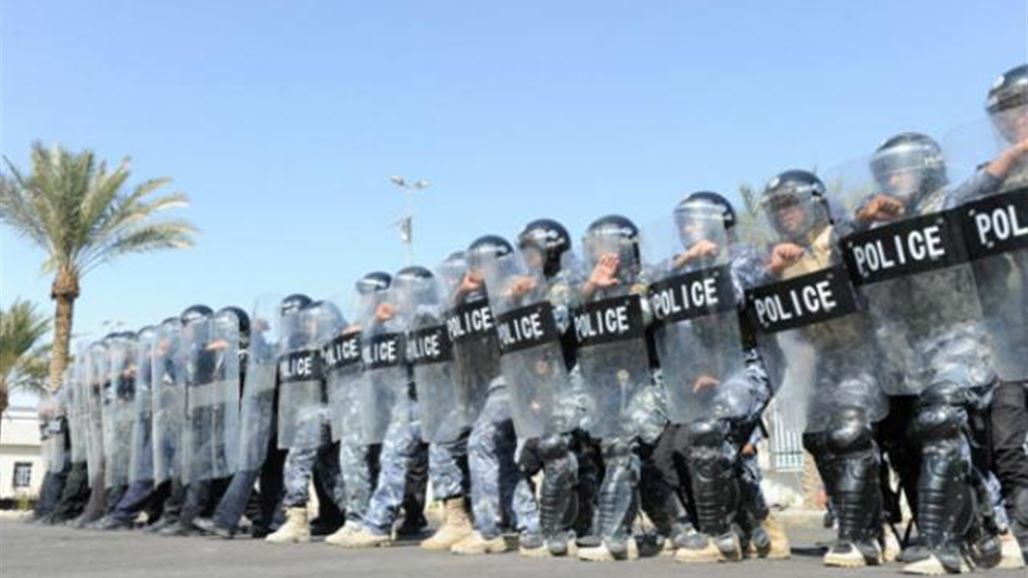 A large deployment of riot police in central Baghdad NB-241904-636672842351702525