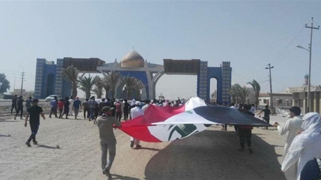 Basra demonstrators closed the port of Safwan border with Kuwait NB-244367-636696599274289117