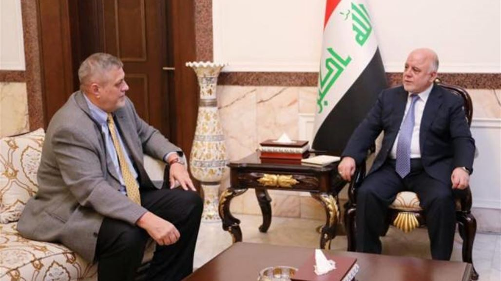 Abadi and Kubic are discussing political developments and the process of forming the next government NB-244517-636697800669002788