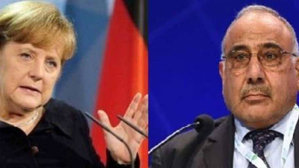 Merkel confirms to Abdul Mahdi, Germany's support for Iraq and at all levels NB-252074-636772067123535193
