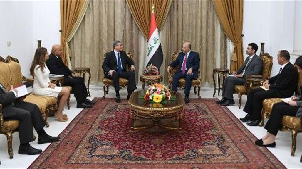 Saleh calls on the World Bank to support development projects in Iraq NB-253920-636791098020909792