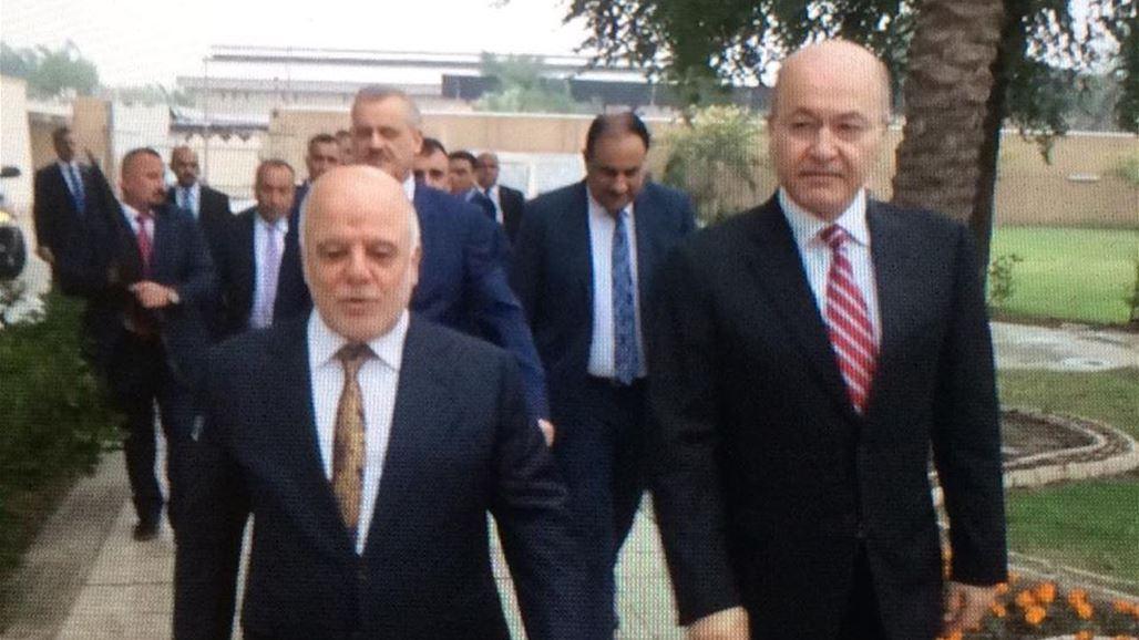 Barham Saleh and Abadi discuss developments in the political arena NB-254028-636792622054494242