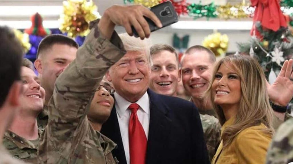 Trump visits U.S. troops in Iraq for first trip to a conflict zone NB-256287-636814874064828618