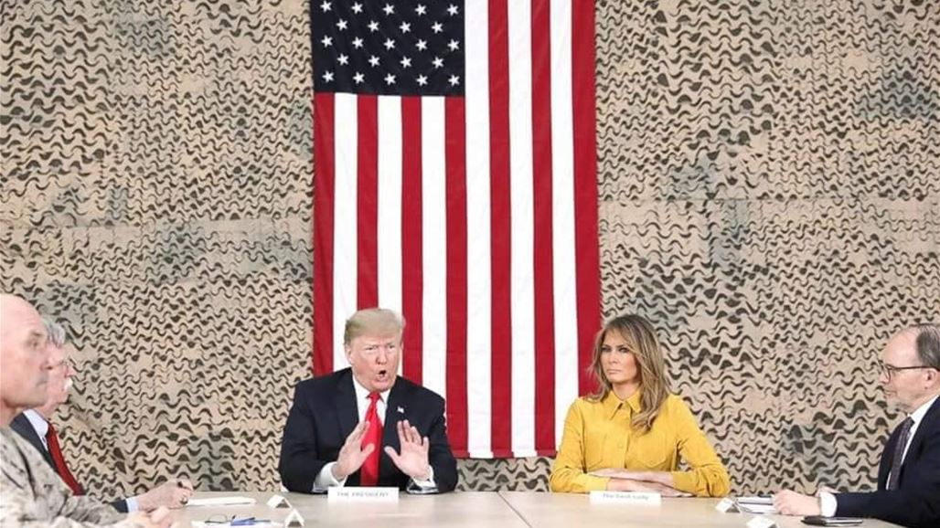 Trump visits U.S. troops in Iraq for first trip to a conflict zone NB-256289-636814884753799911