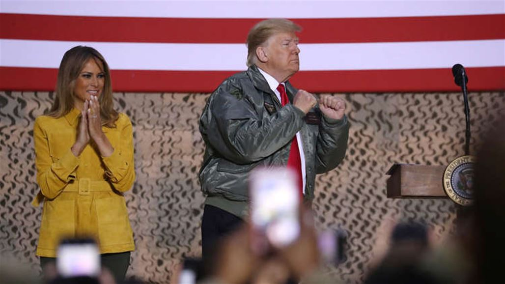 Trump visits U.S. troops in Iraq for first trip to a conflict zone NB-256293-636814922885609051