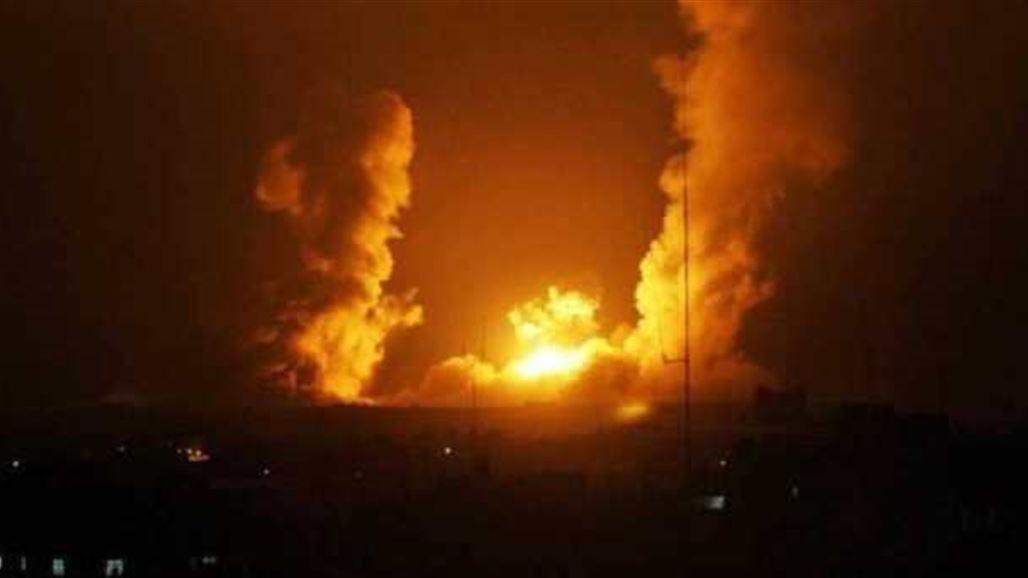 URGENT Israeli bombardment near Damascus and Syrian air defense NB-257653-636828421270698855