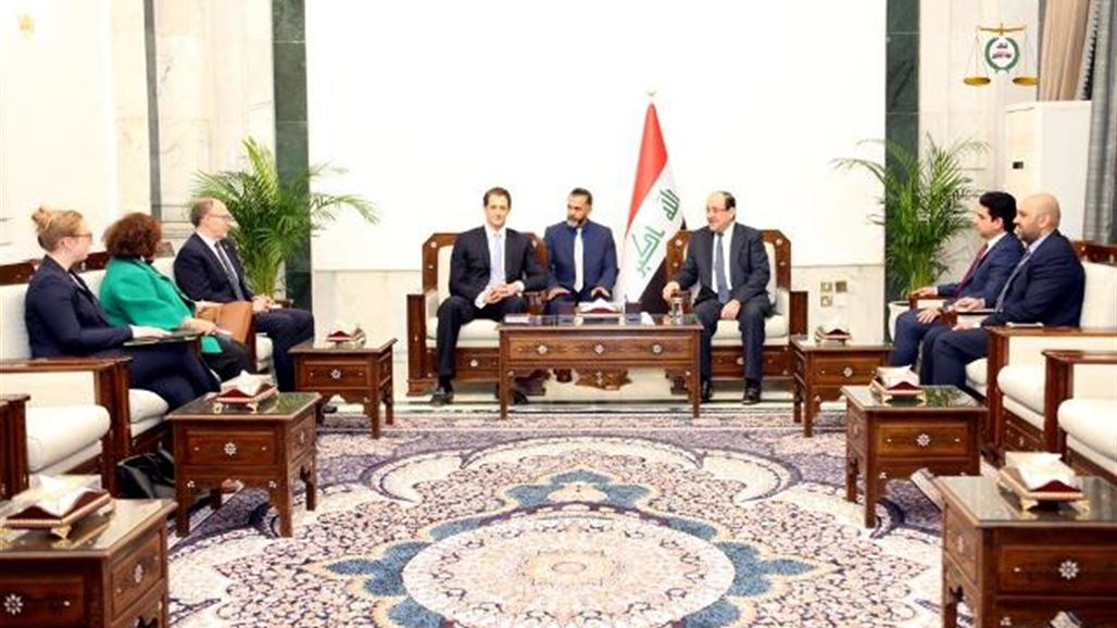 Maliki discusses with US delegation the question of the presence of US forces in Iraq