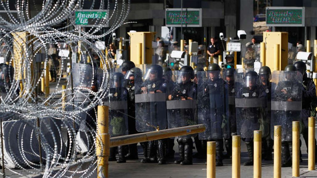 The United States sends an additional 3,750 soldiers to the border with Mexico NB-259844-636848564495603152