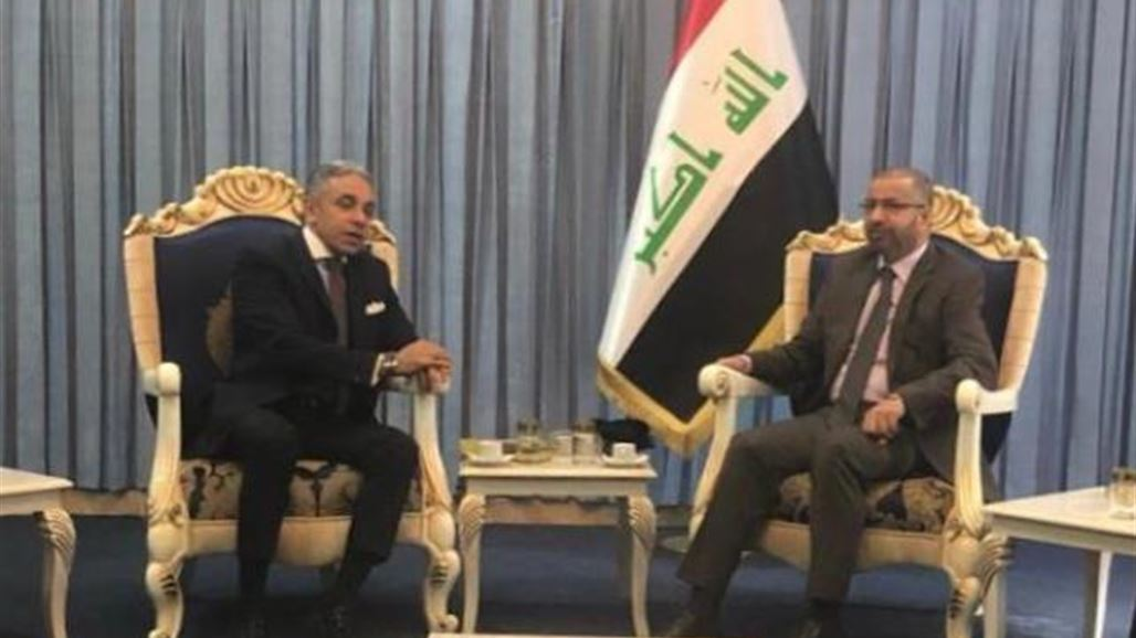 Jubouri assured the Egyptian ambassador of the importance of coordination of positions between the two countries NB-260439-636853942224225290