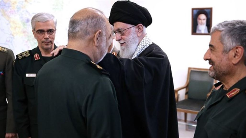 Khamenei is awarded the rank of Major General to the new commander of the Revolutionary Guards NB-267402-636915996511808430