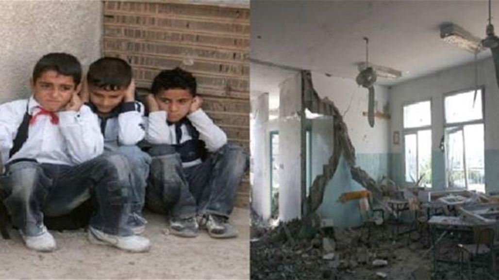 قتلى و جرحى بتفجيرين في  مدرسة ابتدائية و مركز شرطة في تلعفر الموصل 2013/10/6