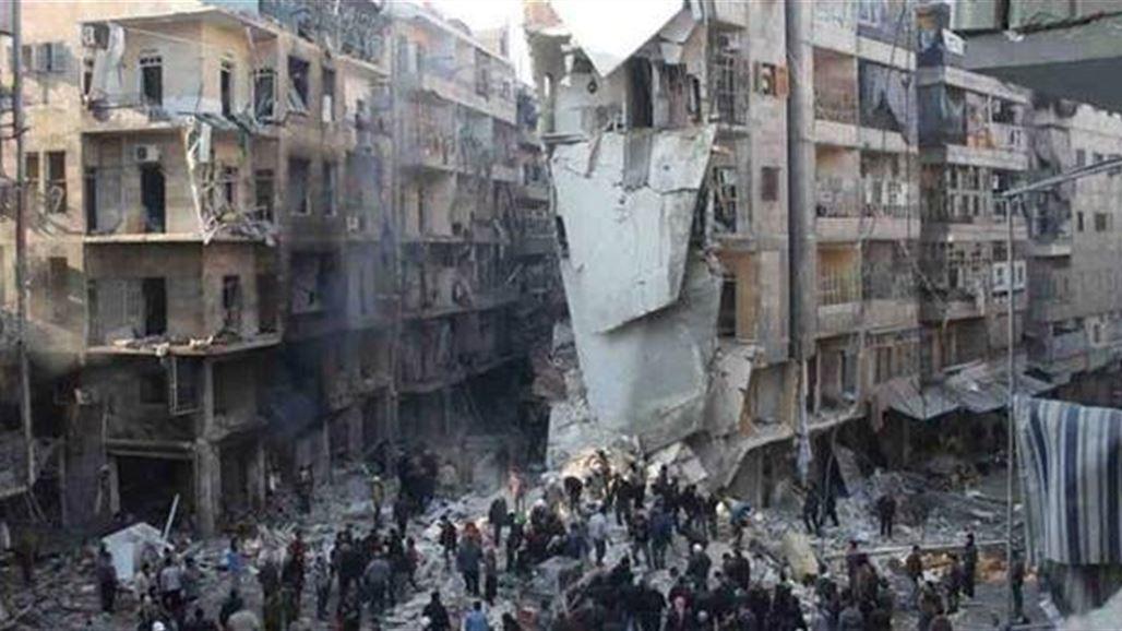 مقتل أكثر من 30 من أهل السّنة في حلب ببرميل متفجّر 2013/12/22