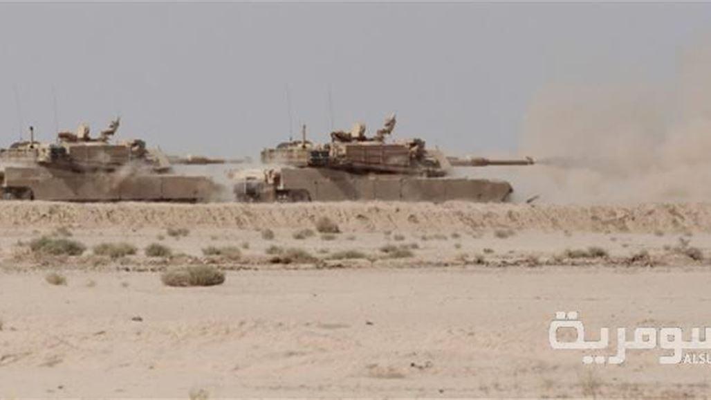 كتائب من دبابات أبرامز توجهت من بغداد الى الأنبار 2013/12/23