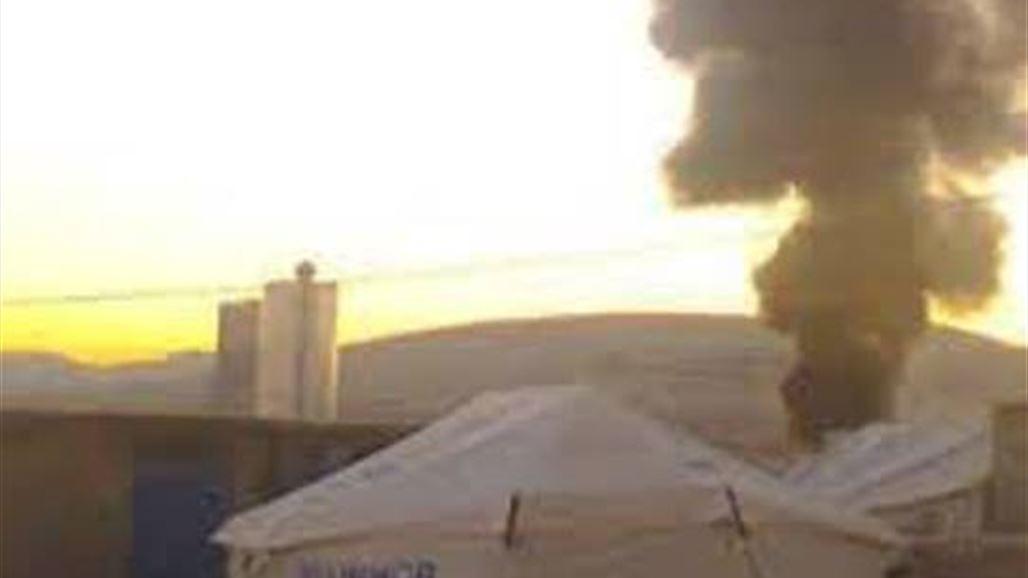 وفاة امرأة مع طفلتها في حريق في مخيّم للاجئين السوريين في دهوك - العراق 2013/12/29