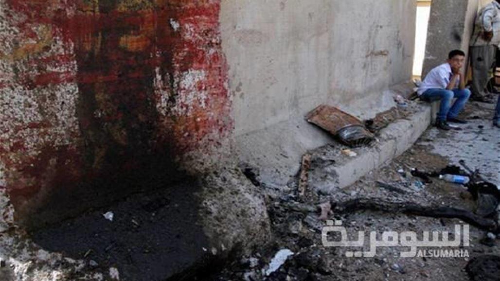 تفجيرات في السوق العربي ومجمع الكناني وسط بغداد الخميس 2014/2/13