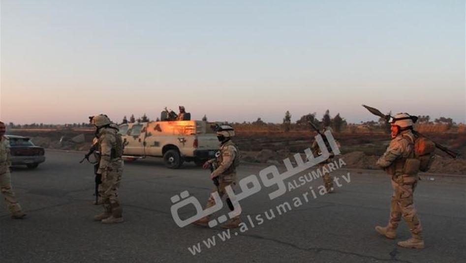 مقتل واصابة 60 شخصا باشتباكات بين داعش والقوات الامنية بقضاء حديثة  أمن