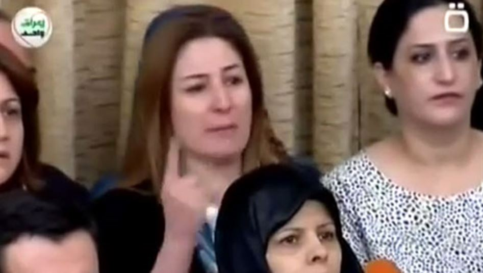 Vian Dakhil makes an emotional plea for Yazidis in Iraqi Parliament