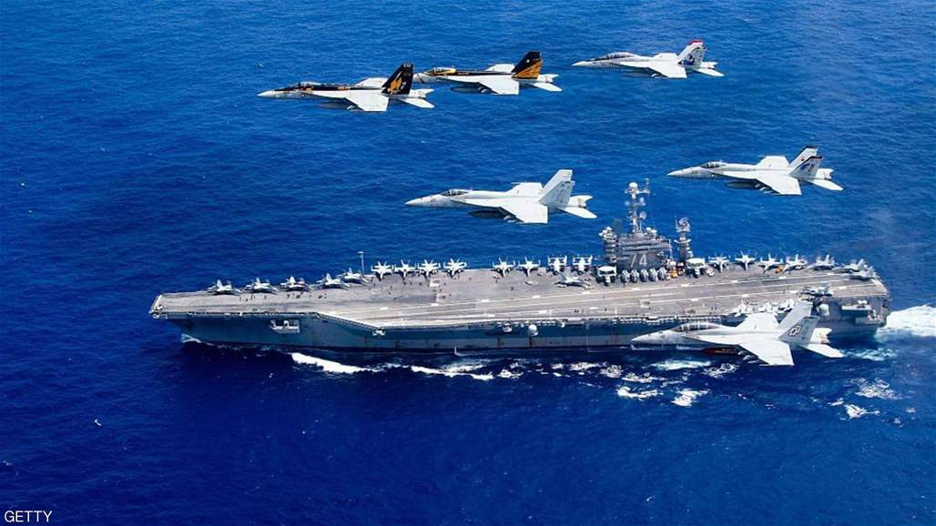 ba6a3f591 تزامناً مع التوتر بين واشنطن وطهران.. إرسال أربع مقاتلات أميركية إلى الشرق  الأوسط