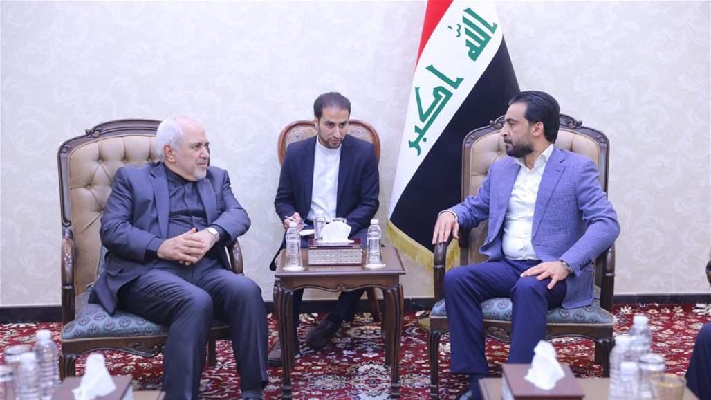 الحلبوسي لظريف: العراق سيلعبُ دورا محوريا لخفض التصعيد بين طهران وواشنطن
