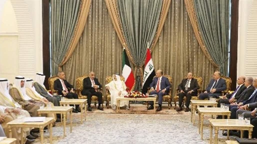 صالح للصباح: العراق يسعى الى تحقيق توافق اقليمي شامل على قاعدة الحوار