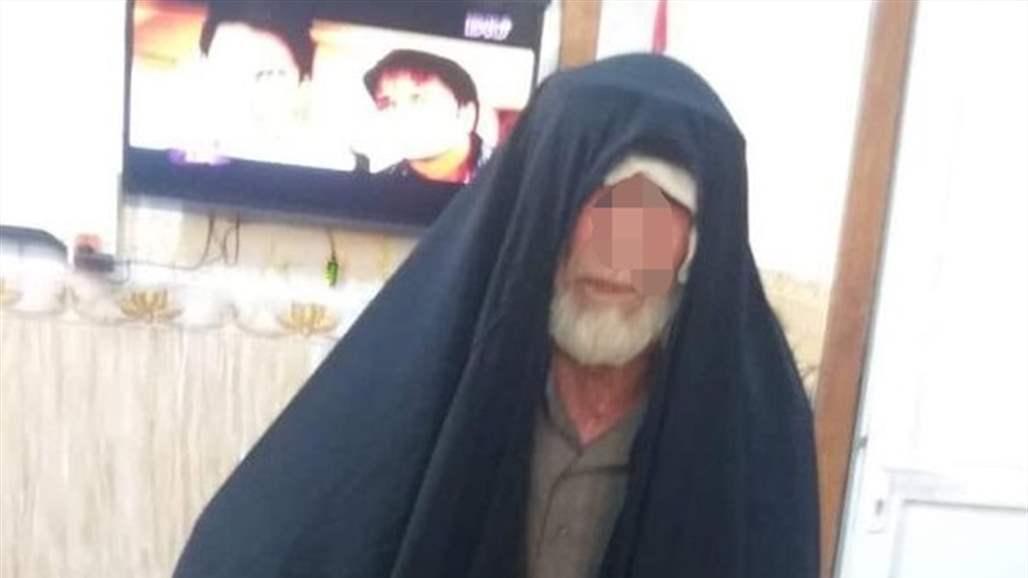 """القبض على """"داعشي"""" متنكر بزي نساء في الموصل"""