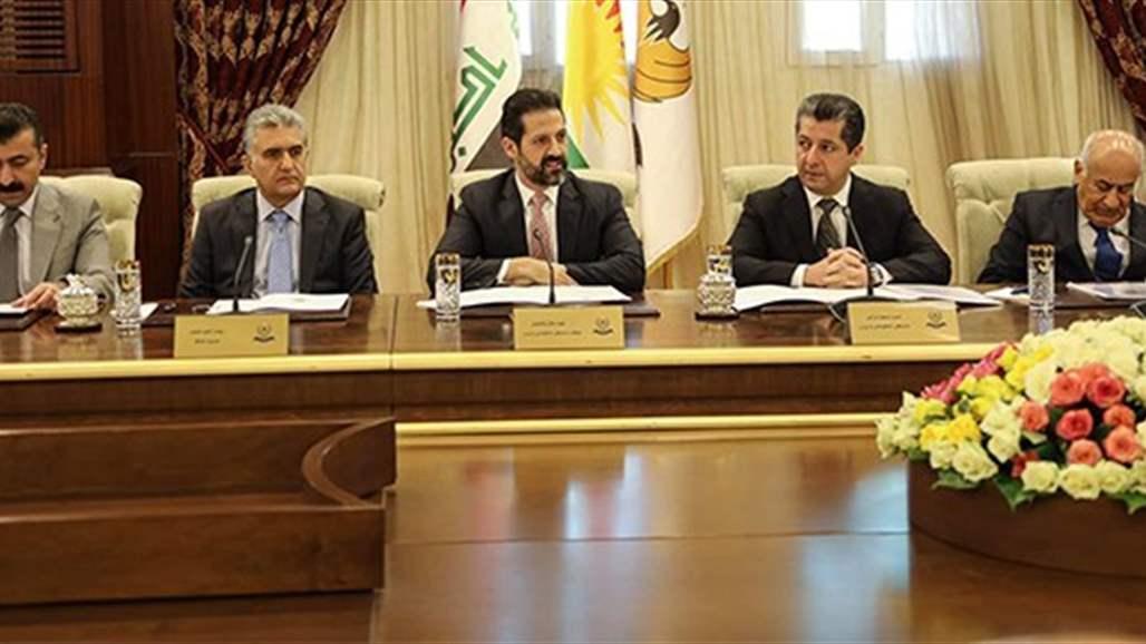 الهدف من زيارة البارزاني الى بغداد اليوم