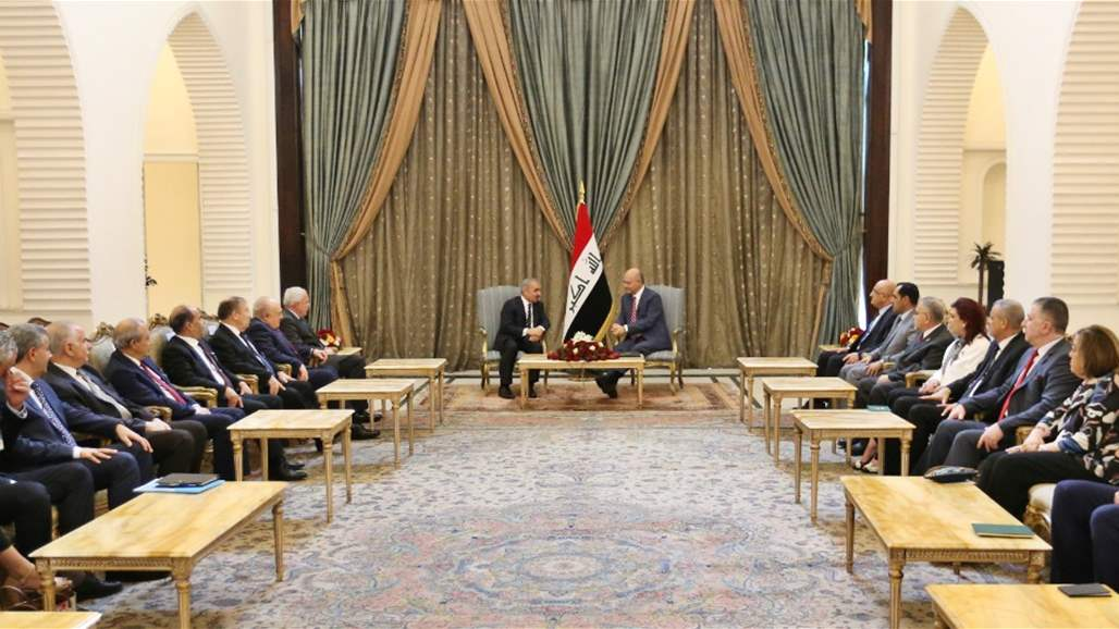 صالح: حريصون على تمتع الفلسطينيين المقيمين في العراق بكامل حقوقهم